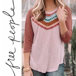 NWT Free People Spring Bound Top